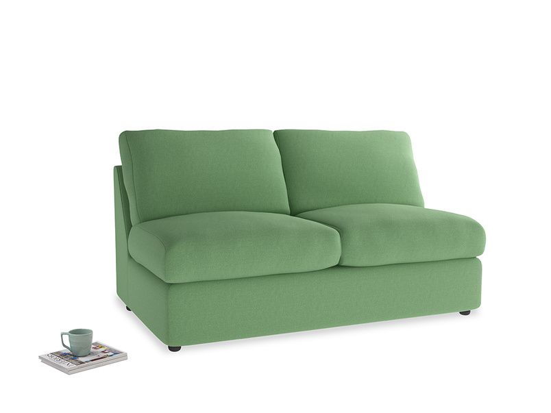 Chatnap Sofa Bed in Clean green Brushed Cotton