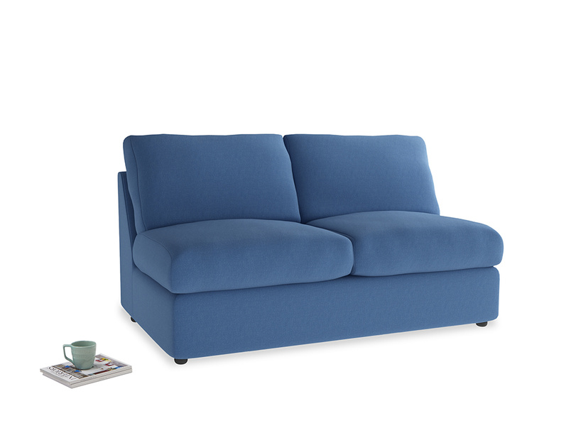 Chatnap Sofa Bed in English blue Brushed Cotton