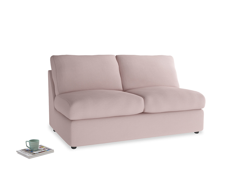 Chatnap Sofa Bed in Potter's pink Clever Linen