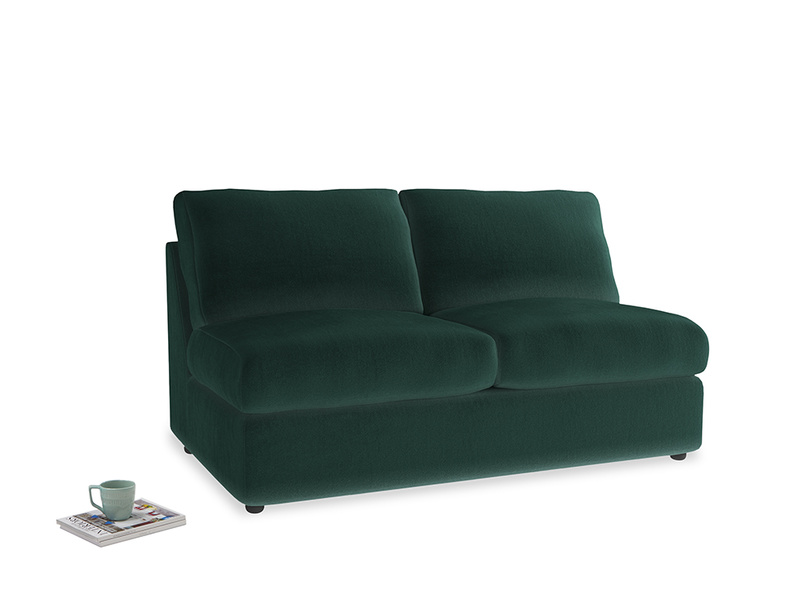Chatnap Storage Sofa in Dark green Clever Velvet