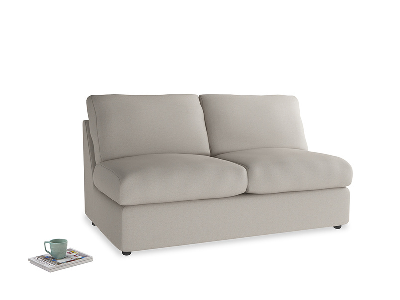 Chatnap Storage Sofa in Sailcloth grey Clever Woolly Fabric