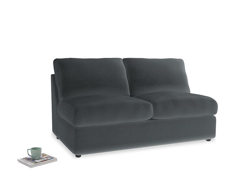 Chatnap Sofa Bed in Dark grey Clever Deep Velvet