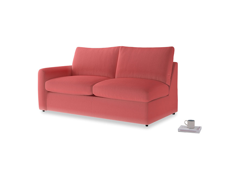 Chatnap Storage Sofa in Carnival Clever Deep Velvet with a left arm