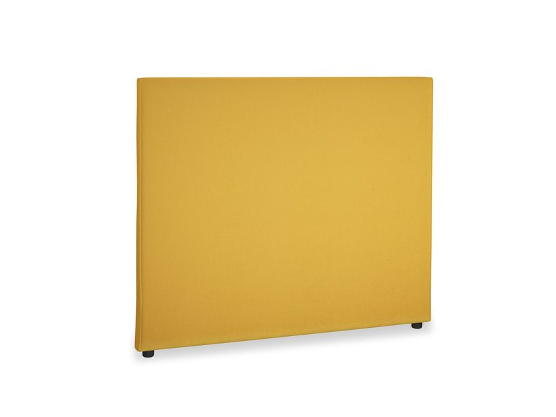 Double Piper Headboard in Pollen Clever Deep Velvet
