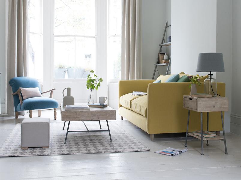 Flopster high arm sofa