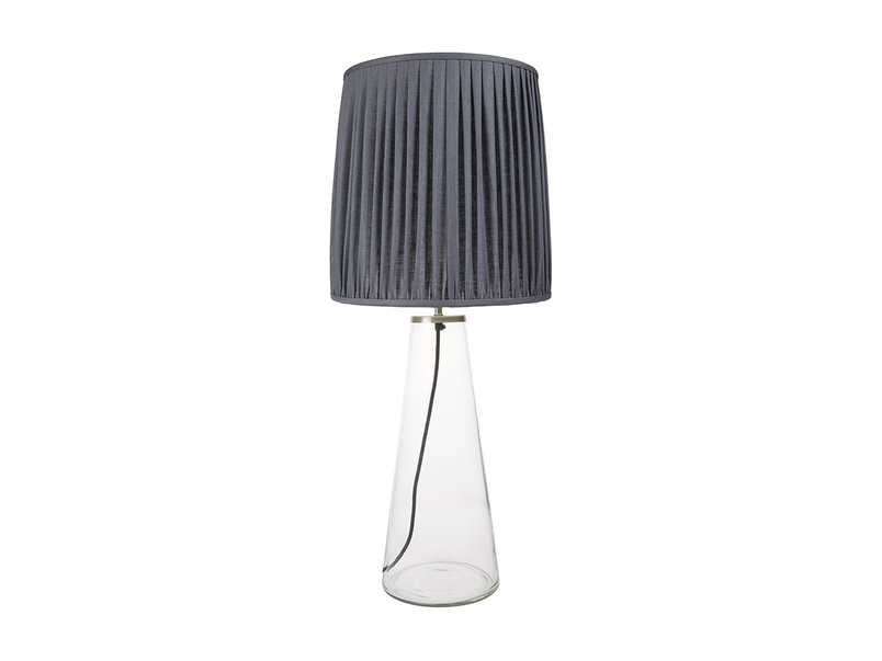 Shardy Table Lamp with a Graphite shade
