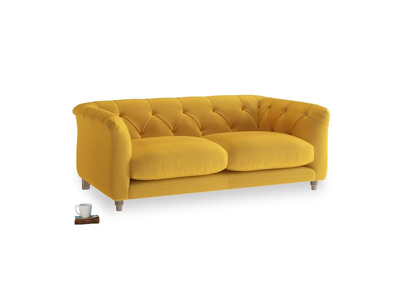 Small Boho Sofa in Pollen Clever Deep Velvet