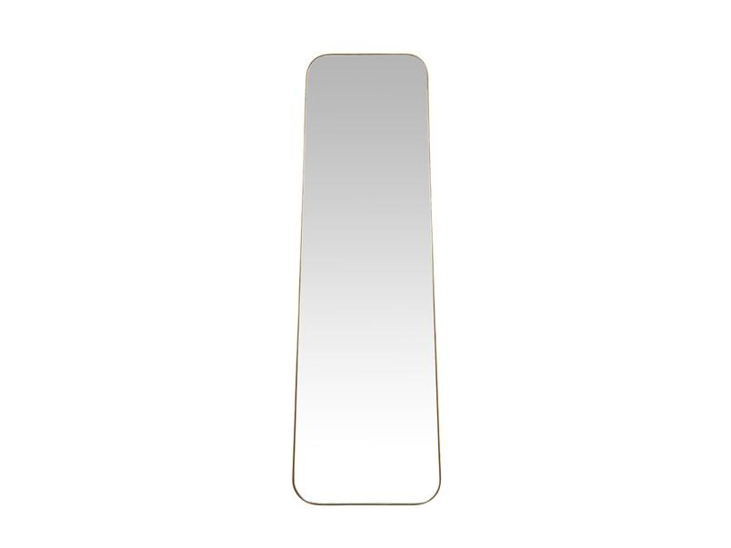 Stella brass free standing floor mirror