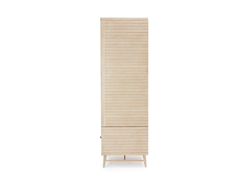 Prime Groover wooden wardrobe in bleached oak