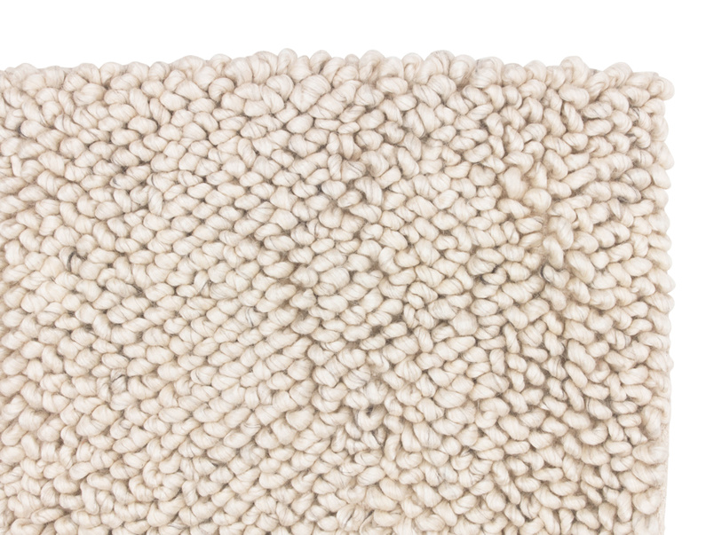 Handmade Shaggy rug is a gorgeous knitted floor rug