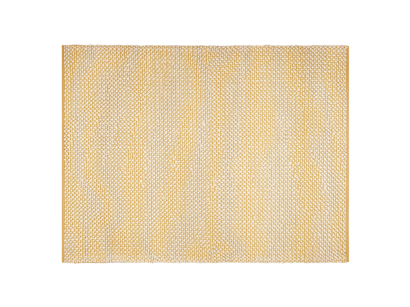 Medium Bobble In Burnt Yellow rug