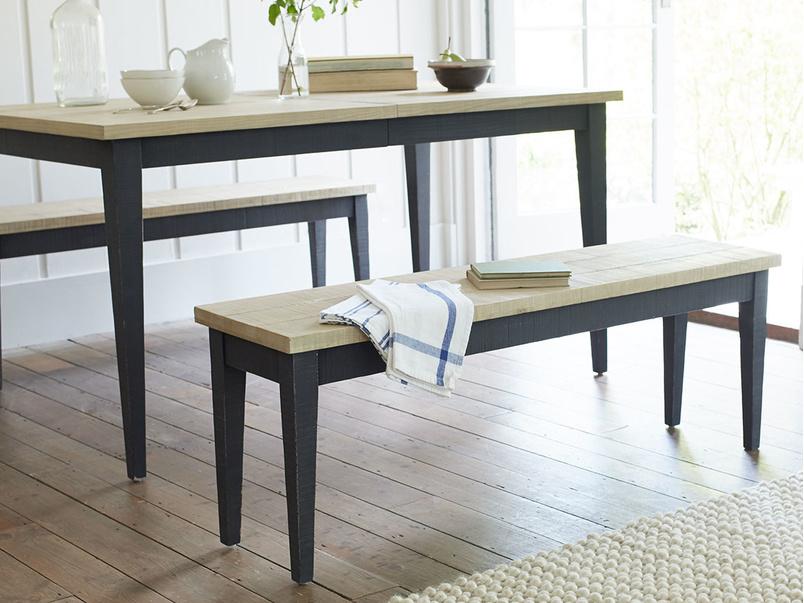 Chittlewag wooden kitchen dining bench