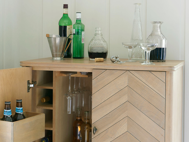 Bootleg cocktail cabinet