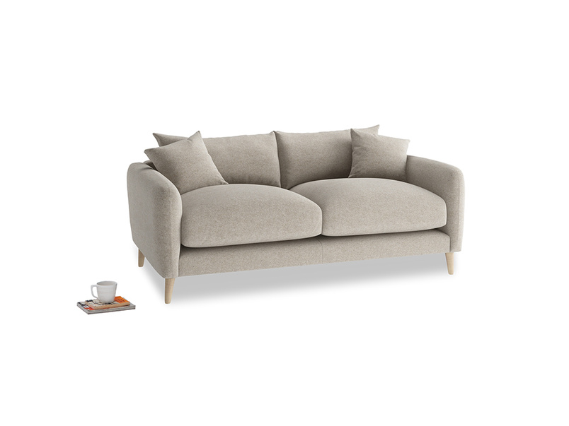 Small Squishmeister Sofa in Birch wool