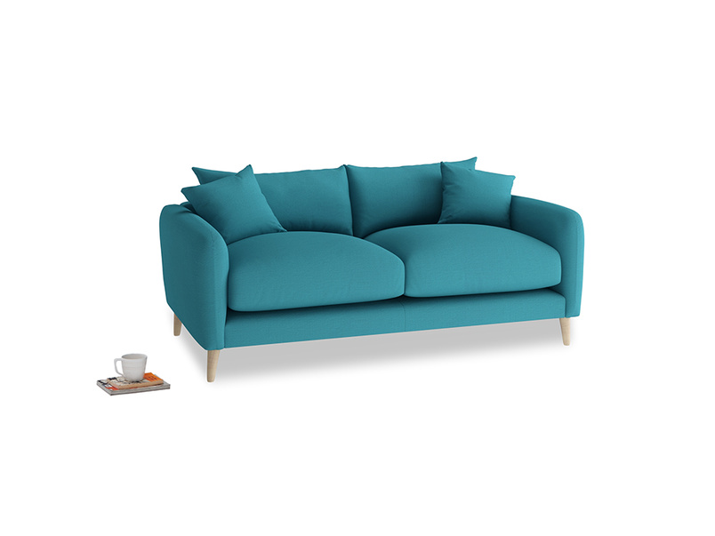 Small Squishmeister Sofa in Dragonfly Clever Linen