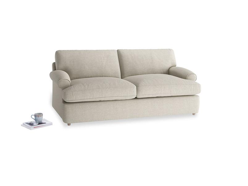 Medium Slowcoach Sofa Bed in Thatch house fabric