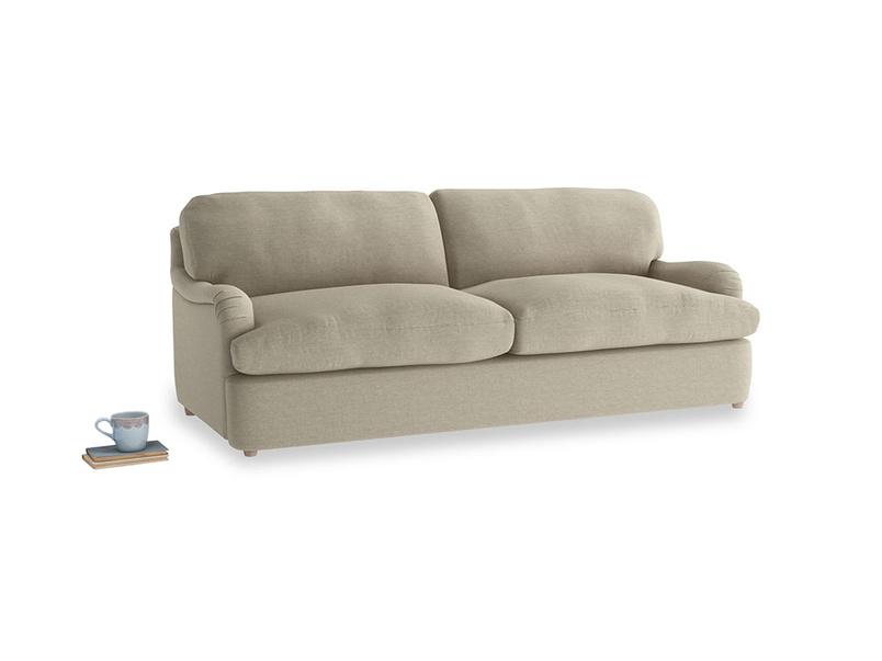 Large Jonesy Sofa Bed in Jute vintage linen