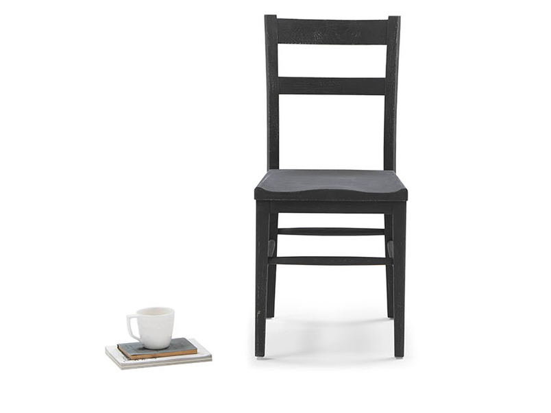 Idler painted wood kitchen chair