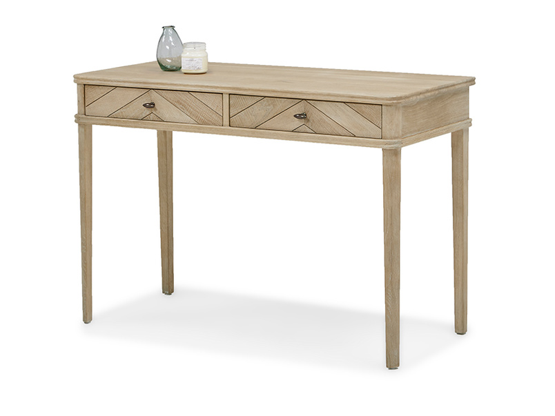 Fab Flapper small writing desk in parquet wood
