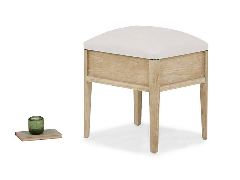 Lippy small dressing table stool