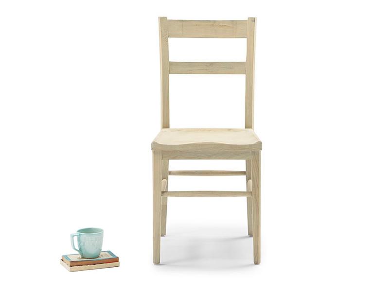 Idler wooden kitchen chair in Natuarl wood