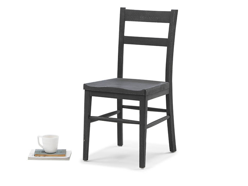 Idler kitchen chair in Charcoal