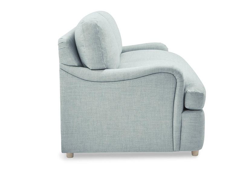Jonesy upholstered sofa bed side deatil
