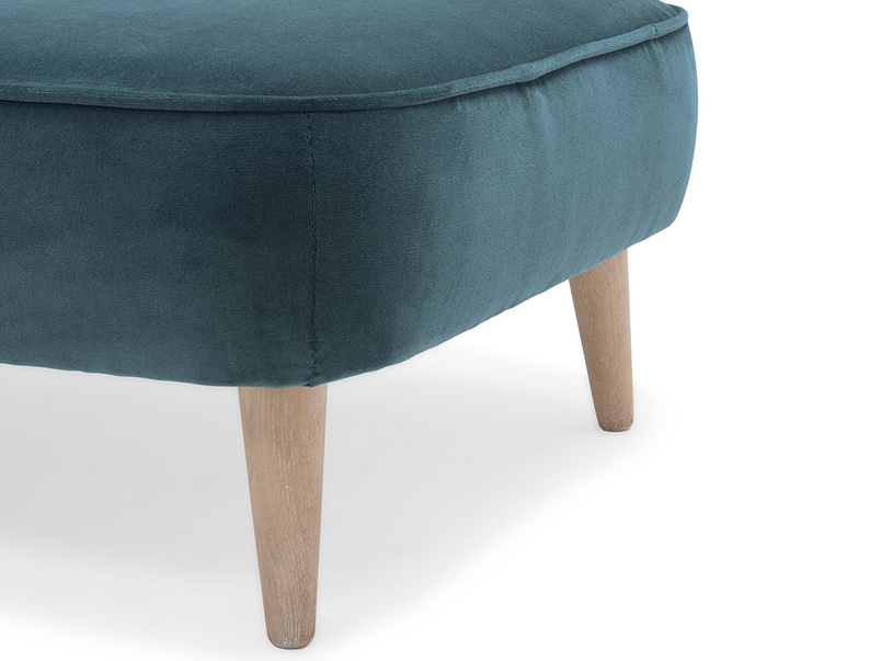 Soapbox retro footstool leg detail