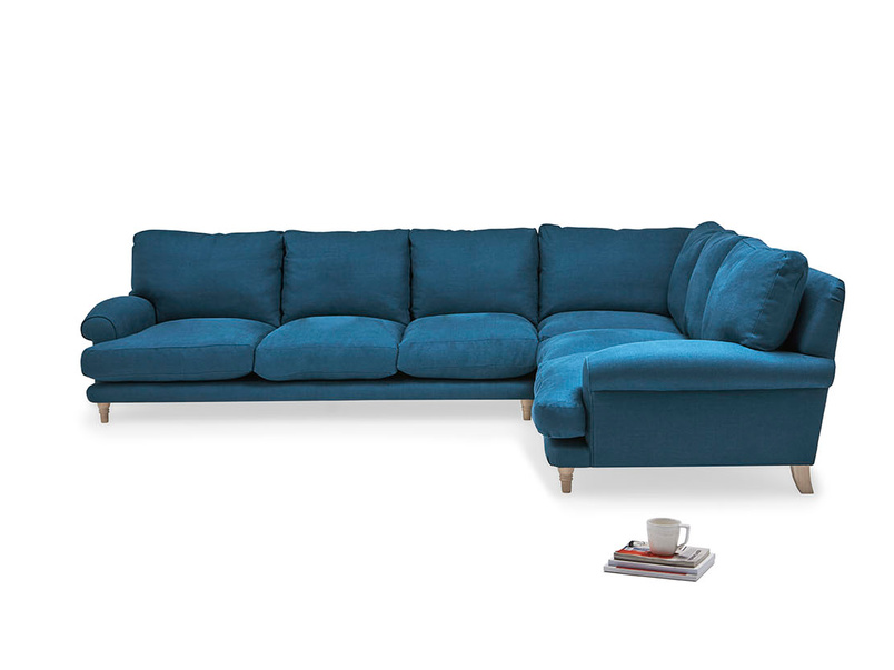 Slowcoach corner sofa
