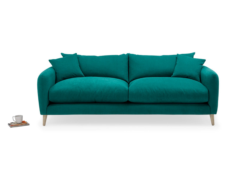 Squishmeister contemporary squishy sofa