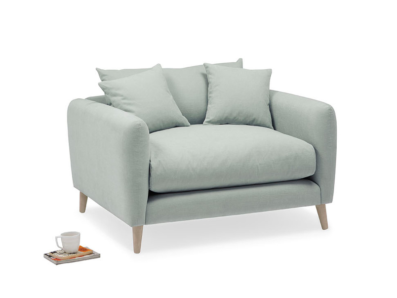 Squishmeister contemporary love seat