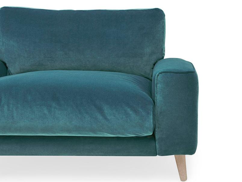 Strudel low arm armchair