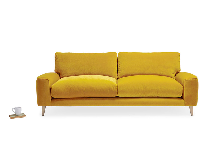 Strudel contemporary squishy sofa