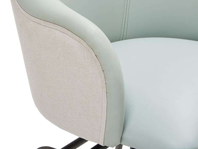 Milkshakre leather retro kitchen chair