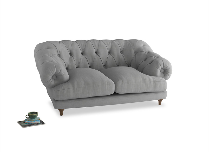Small Bagsie Sofa in Pewter Clever Softie