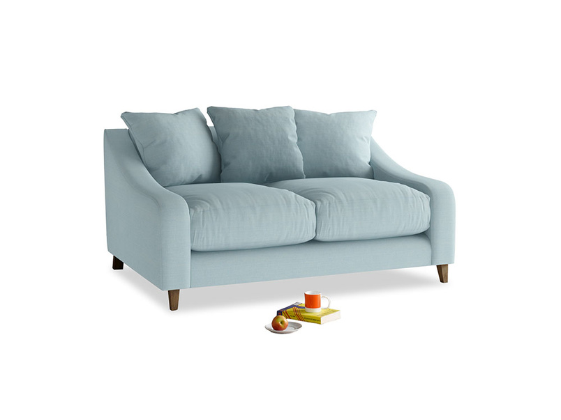 Small Oscar Sofa in Powder Blue Clever Softie