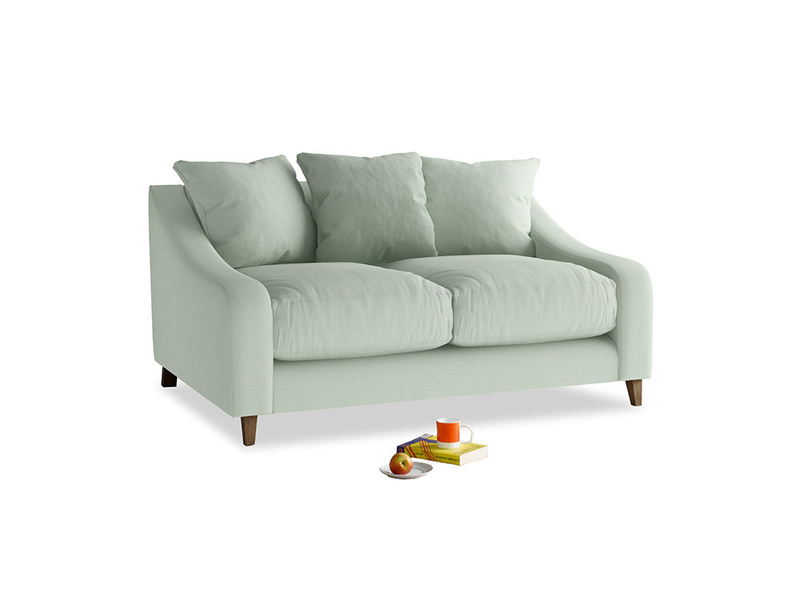 Small Oscar Sofa in Soft Green Clever Softie