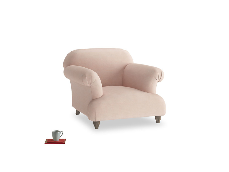 Soufflé Armchair in Pink clay Clever Softie