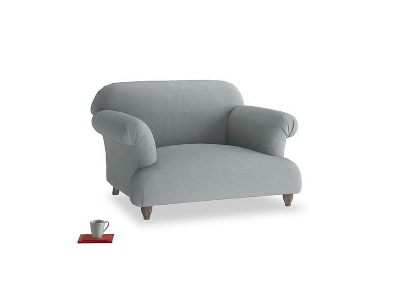 Soufflé Love seat in Armadillo Clever Softie