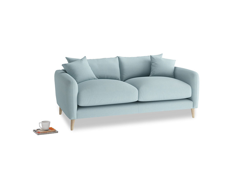 Small Squishmeister Sofa in Powder Blue Clever Softie