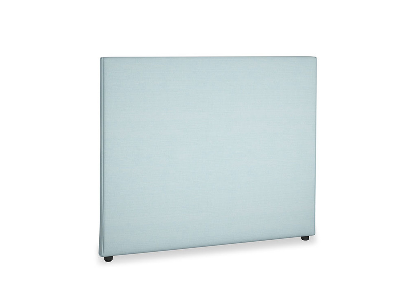 Double Piper Headboard in Powder Blue Clever Softie