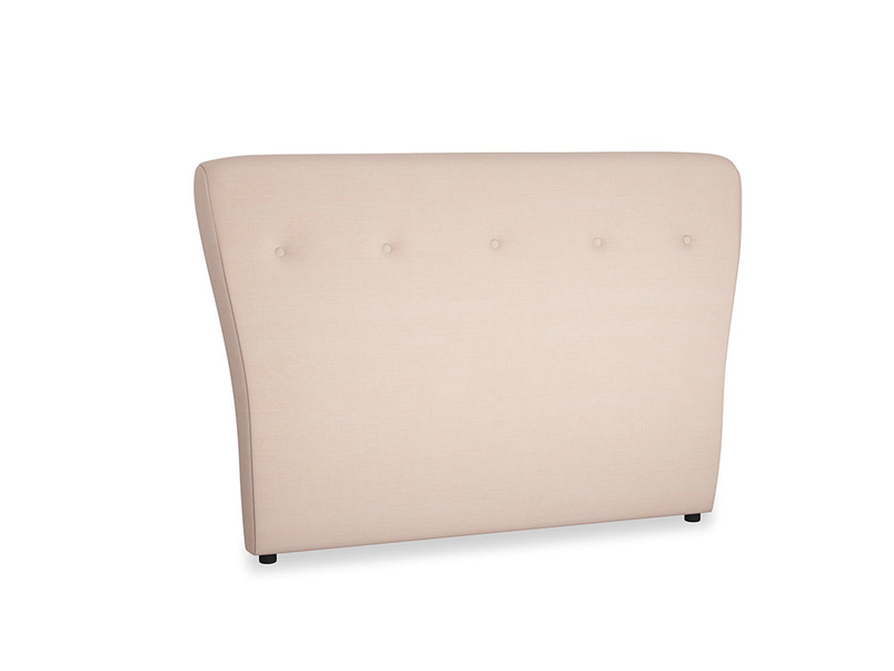 Double Smoke Headboard in Pink clay Clever Softie