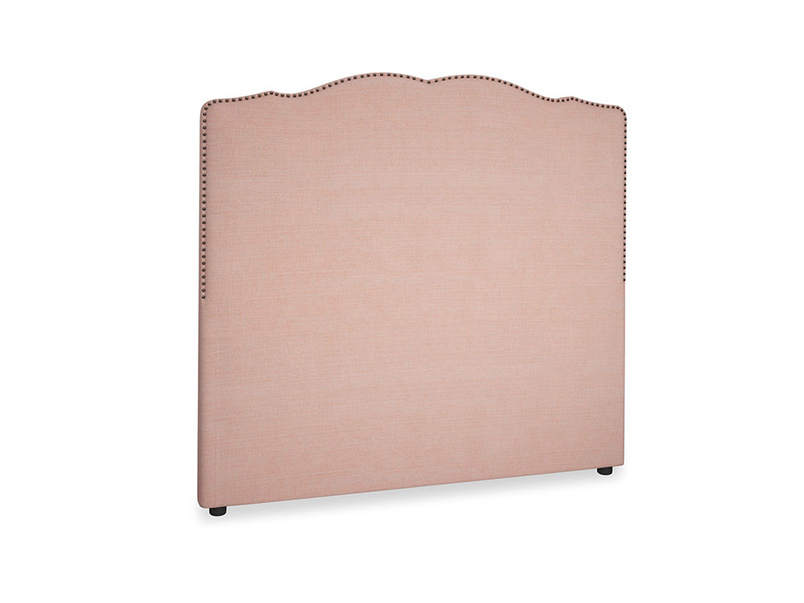 Double Marie Headboard in Tuscan Pink Clever Softie