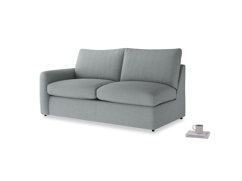 Chatnap Sofa Bed in Armadillo Clever Softie with a left arm