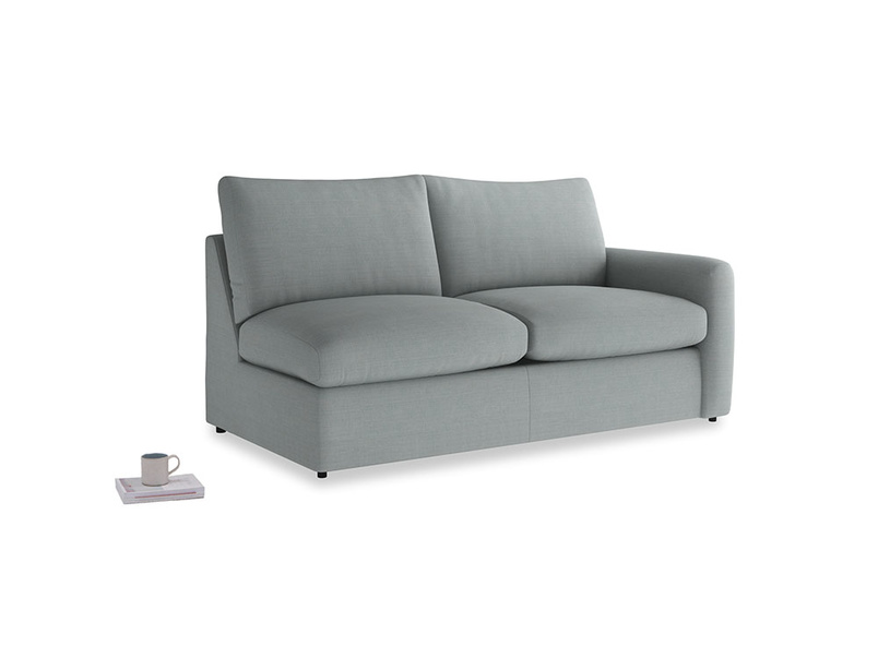 Chatnap Sofa Bed in Armadillo Clever Softie with a right arm