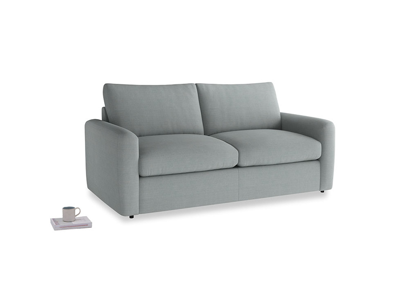 Chatnap Sofa Bed in Armadillo Clever Softie with both arms