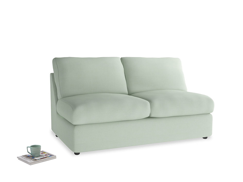 Chatnap Storage Sofa in Soft Green Clever Softie