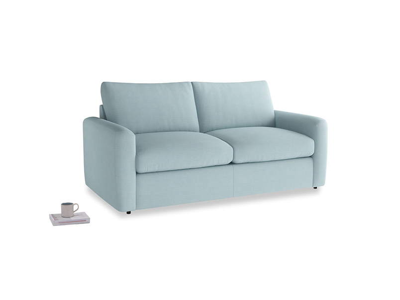 Chatnap Storage Sofa in Powder Blue Clever Softie with both arms