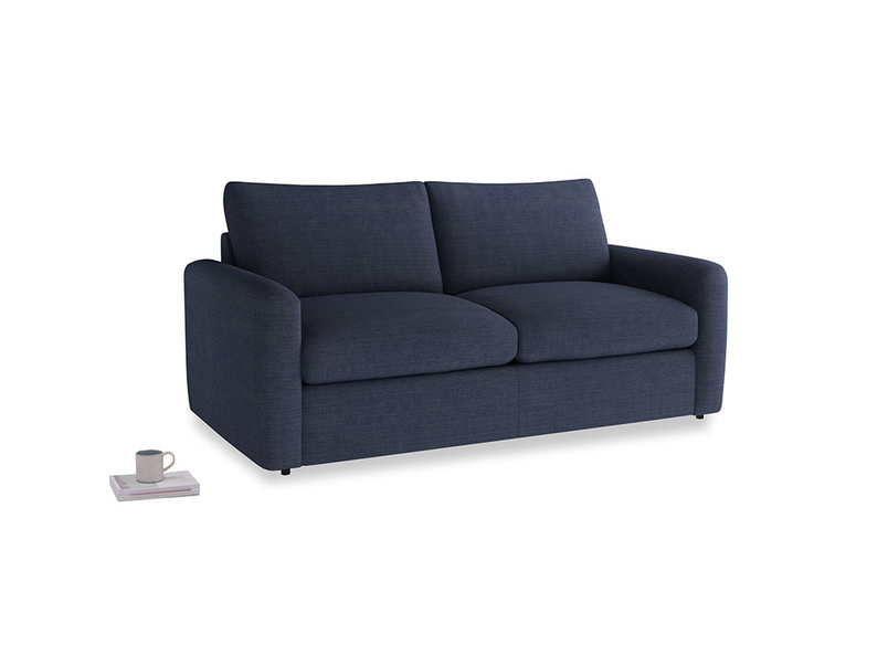 Chatnap Storage Sofa in Seriously Blue Clever Softie with both arms