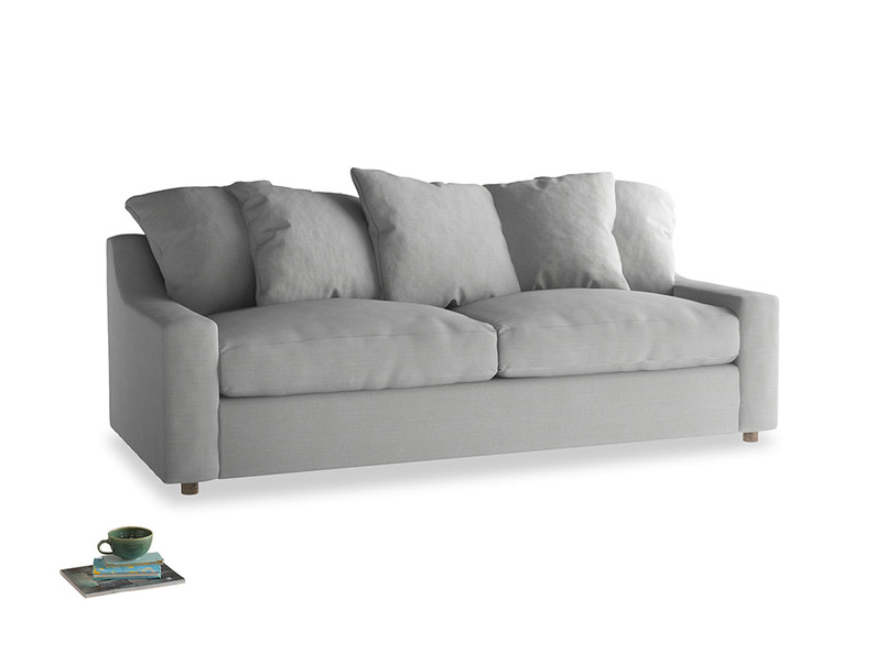 Large Cloud Sofa in Pewter Clever Softie